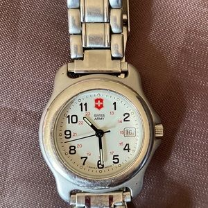 Swiss army watch used condition